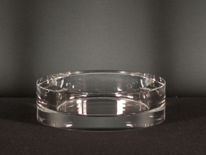 Cenicero cristal redondo 1 1199 tadeval artesan a del for Cristal redondo para mesa