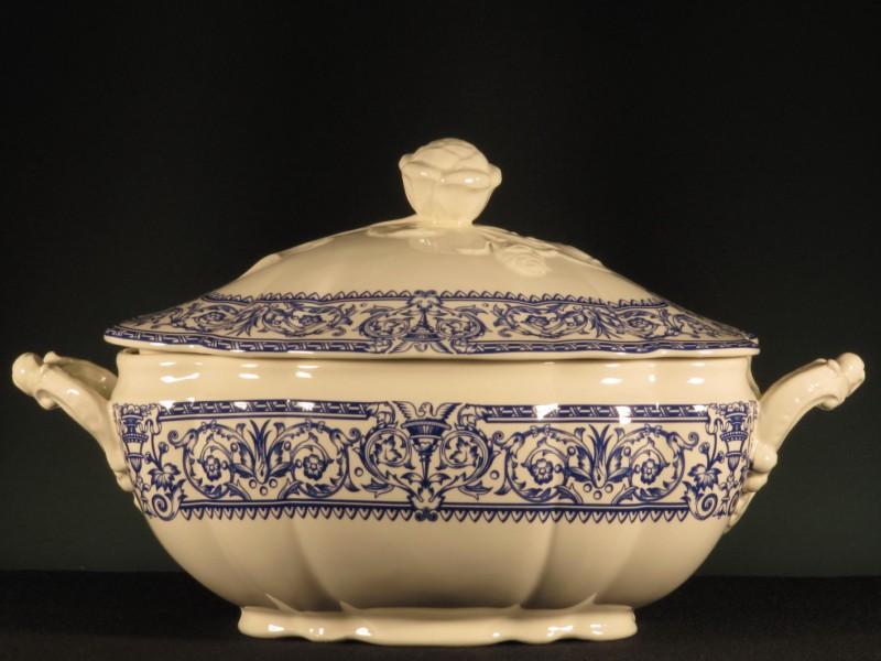 Vajilla y juego caf 150 aniversario la cartuja de sevilla 83 piezas tadeval artesan a del - Vajilla la cartuja ...