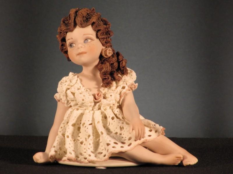 Figura porcelana odette sibania tadeval artesan a for Porcelana italiana