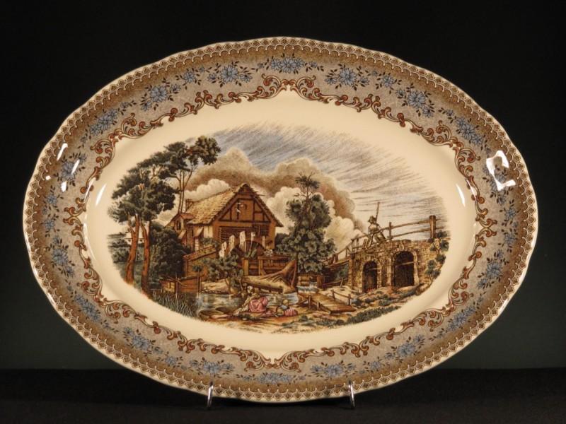 Vajilla y juego caf viejo molino la cartuja de sevilla - Ceramica de la cartuja ...