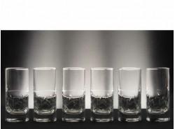 Juego 6 Vasos Whisky Altos 5089 T/238 - BOHEMIA