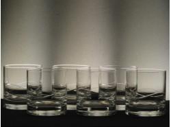 Set 6 Vasos Whisky Bajos 6523 - Talla132