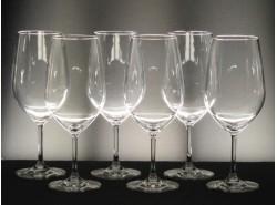 Juego 6 Copas VIÑA-130 Vino - Lisas