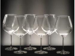 Juego 6 Copas VIÑA-140 Vino - Lisas