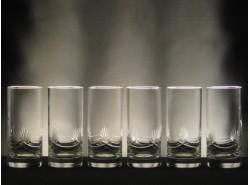 Juego 6 Vasos Whisky Altos 6523 T/253 Tallado a Mano - SCHOTT ZWIESEL