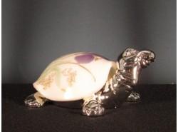 Tortuga FLOR MORADA NOB1675-2 Plata/Cristal