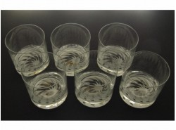 Juego 6 Vasos 6523-Whisky Bajos Estrella