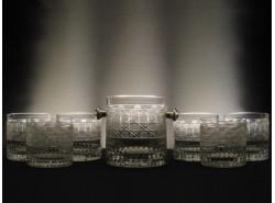Estuche Whisky MT1 - 7 piezas  Tallado a Mano