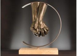 Escultura LORENZO QUINN - AMOR