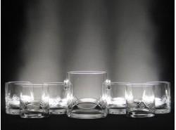 Juego Whisky 5089-7131 7 Piezas T/128 Tallado a Mano - BOHEMIA