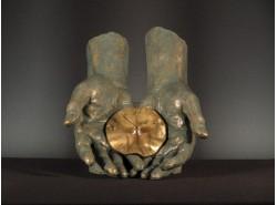 Reloj-Escultura 199-El Tiempo En Tus Manos - ANGLADA