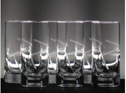 Set 6 Vasos Whisky Altos 5089 T/221 - BOHEMIA