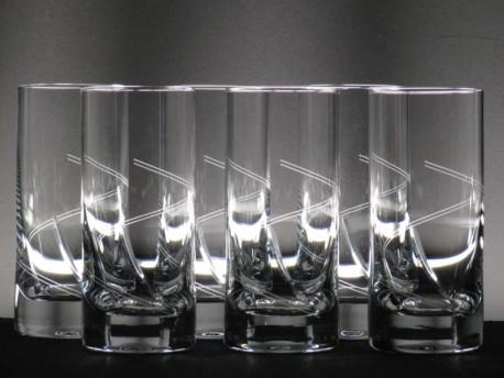 Set 6 Vasos Whisky Altos 5089 Talla 221