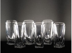 Juego 6 Vasos QUADRO Licor - BOHEMIA
