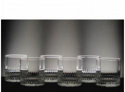 Juego 6 Vasos 6523 Whisky Bajos T/225 Tallado a Mano - SCHOTT ZWIESEL