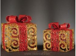 Set 2 Cajas Regalo Navidad