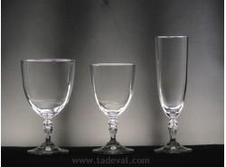 Cristalería GLORIA Lisa - 36 piezas