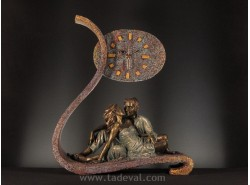Reloj-Escultura 349-Vértigo - ANGLADA