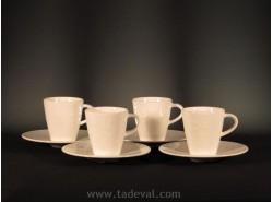 Set 4 Tazas Moka CAFFÈ CLUB FLORAL TOUCH - Villeroy & Boch
