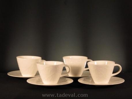 Set 4Tazas Café/Té CAFFÈ CLUB FLO.TOUCH