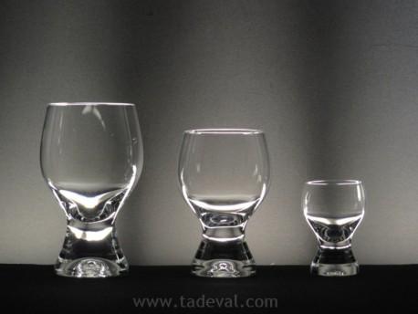 Cristalería GINA Lisa - 18 piezas