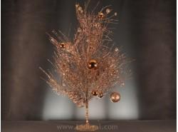 Árbol Navidad Bolas Cobre 80 cm - 49796