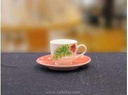 Set 6 Tazas FLORY CONFEZIONE Café Con Plato - FADE
