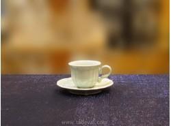 JUEGO 6 TAZAS CAFÉ ROMANTIC SALVIA-FADE