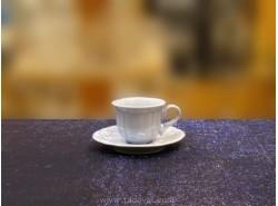 JUEGO 6 TAZAS CAFÉ ROMANTIC BLUETTE -FADE
