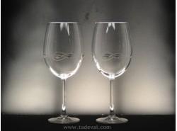 Juego 2 Copas DEGUSTACIÓN-850 Vino - Talla 214 - RONA