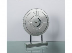 Reloj Sobremesa Redondo Espejo 30,7x42 cm.